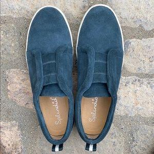 Splendid Dagny Slip On Suede Sneaker